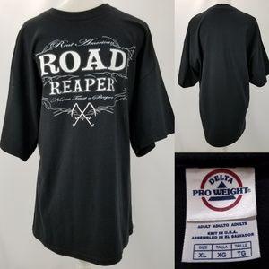Delta Road Reaper Never Trust a Sleeper T-shirt XL